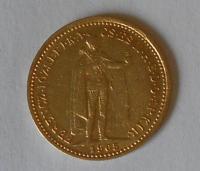 Uhry 10 Korun 1905 KB