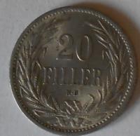 Uhry 20 Fillér 1914 KB STAV