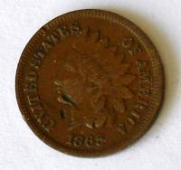 USA 1 Cent 1865