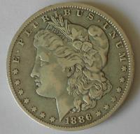 USA 1 Dolar 1886 Morgan