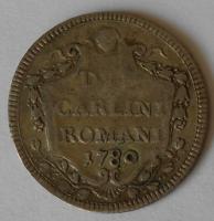 Vatikán 2 Cardine 1780