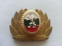vojenský čepicový odznak, Bulharsko