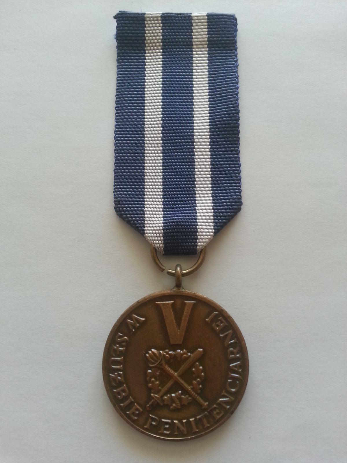 za V.let vojenské služby, Polsko