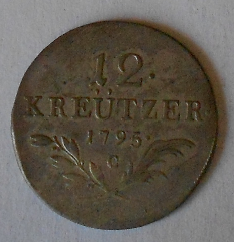 Čechy 12 Krejcar 1795 C František II.