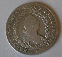 Čechy – Praha 20 Krejcar 1758 PR František Lotrinský