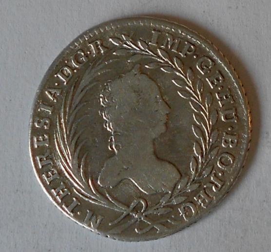 Čechy – Praha 20 Krejcar 1763 Marie Terezie