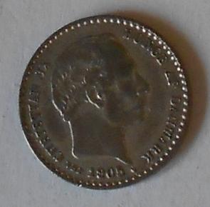 Dánsko 10 Öre 1905