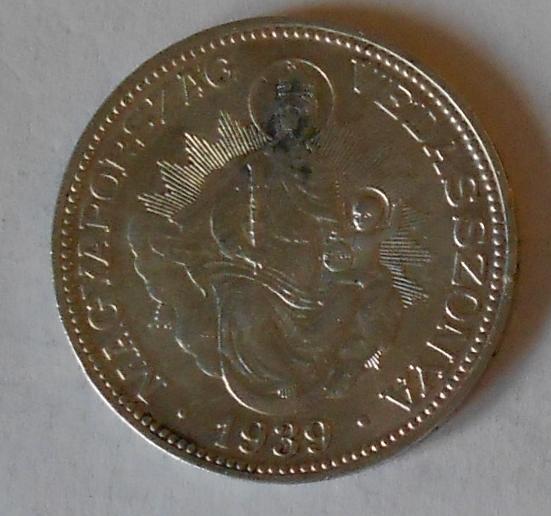 Maďarsko 2 Pengö 1939