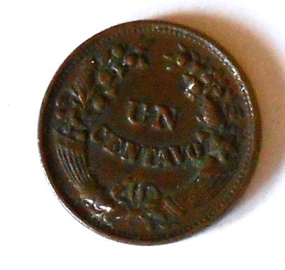 Peru 1 Cent 1918