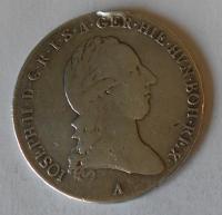 Rakousko 1/2 Tolar 1788 A Josef II. Měl ouško