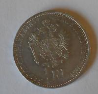 Rakousko 1/4 Floren 1859 A STAV