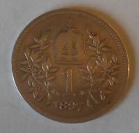 Rakousko 1 Koruna 1897