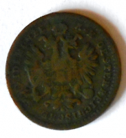 Rakousko 1 Krejcar 1859 V