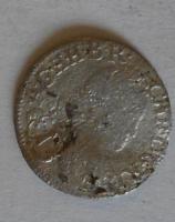 Rakousko 1 Krejcar bez let. Karel VI.