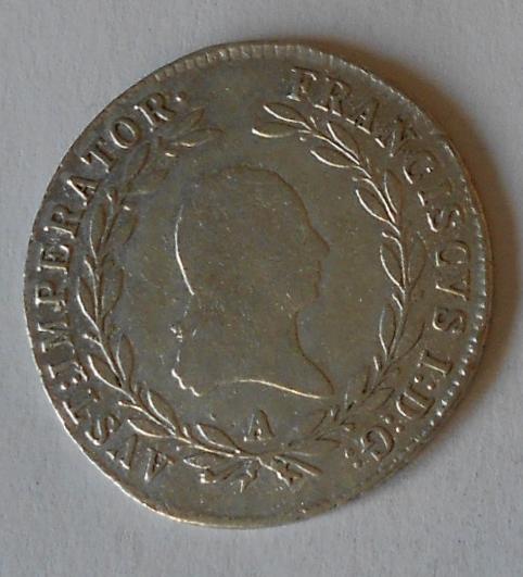 Rakousko 20 Krejcar 1814 A František II.