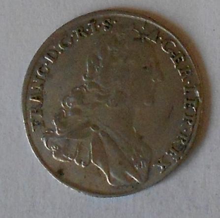 Rakousko 7 Krejcar 1753 František Lotrinský