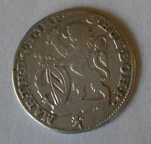 Rakousko Antverpy Eskalin 1750 Marie Terezie