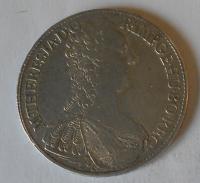 Rakousko Tolar 1765 G Marie Terezie dobové ouško