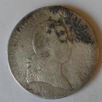 Rakousko Tolar 1792 Leopold II. m.o.