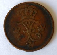 Švédsko 1 Öre 1733