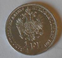 Uhry 1/4 Floren 1859 B