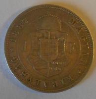 Uhry 1 Floren 1887 KB
