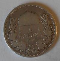 Uhry 1 Koruna 1892 KB