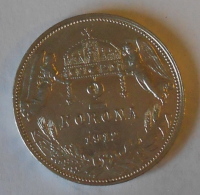 Uhry 2 Koruna 1912 KB