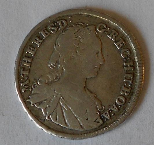 Uhry – KB XV. Krejcar 1745 Marie Terezie