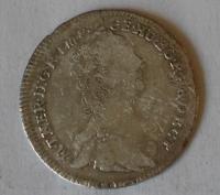 Uhry VII. Krejcar 1763 Marie Terezie