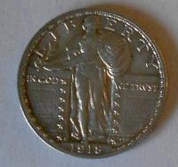 USA 1/4 Dolar 1918 STAV