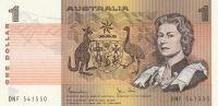 1 Dollar, Austrálie, Alžběta II. hnědá
