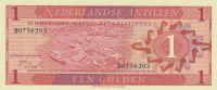1 Gulden, Holandské Antily, 1970