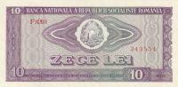 10 Lei, Rumunsko 1966