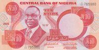 10 Naira, Nigérie, 2005