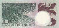 100 Escudos, Angola, 1973