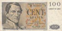 100 Franc, Belgie 1952