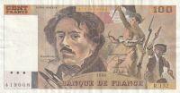 100 Franc, Francie1990