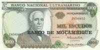 1000 Escudos, Mozambik, 1972