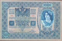 1000K/1902/, stav UNC, šedozelený podtisk