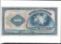 1000Kč/1932/, stav 3 perf. SPECIMEN, série A