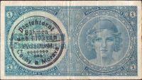 1K/1938-40/, stav 3, série A 075, ruční přetisk