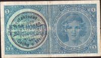 1K/1938-40/, stav 4, série A 054, ruční přetisk