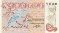 2 1/2 Gulden, Surinam, 1985