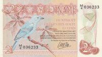 2 1/2 Gulden, Surinam, 1985