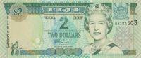 2 Dollar, Alžběta II. Fiji  děti