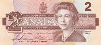 2 Dollar, Kanada, 1986