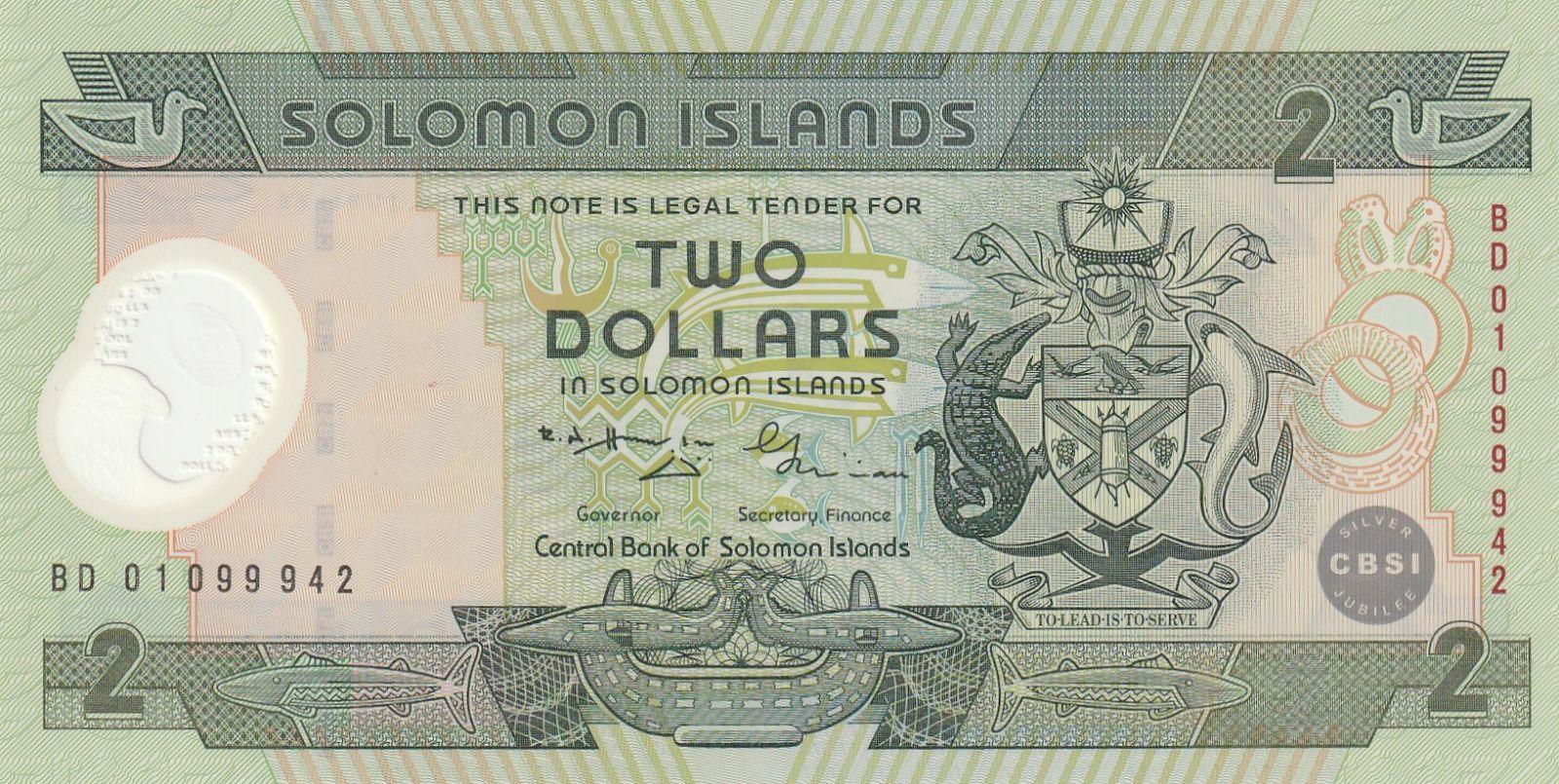 2 Dollar, Šalamounovy ostrovy