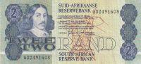 2 Rands, Jihoafrická republika