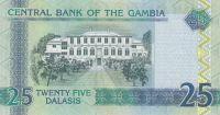25 Dalasis, Gambie